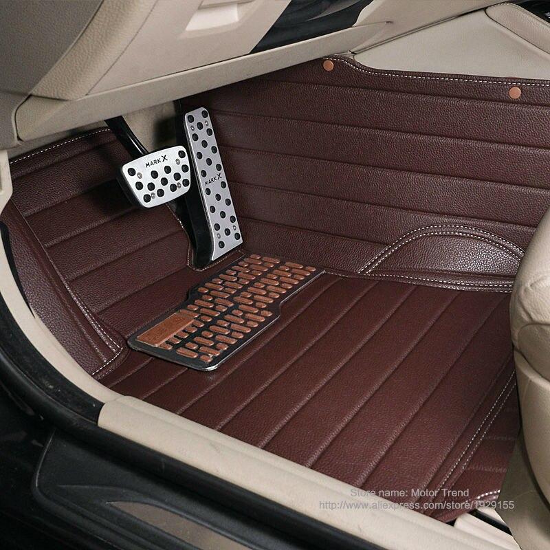 Custom Fit Car Floor Mats For Ford Edge U387 Fusion Mondeo