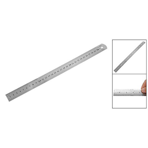 10pack (New Stainless Steel Ruler Measure Metric Function 30cm 12Inch