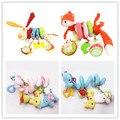 Bonito Espiral Atividade Stroller Assento de Carro Berço Torno Pendurado Brinquedos Viagem Babyplay Bebê Recém-nascido Chocalhos Brinquedos Infantis