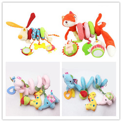Cute spiral activity stroller car seat cot lathe hanging babyplay travel toys newborn baby rattles infant.jpg 250x250