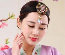 2018 summer Korean Clothing traditional hairbands decoration accessories women stage costumes clothing hair Ornaments