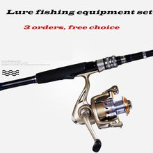 GW Ultralight Carbon Telescopic Casting Fishing Rod Spinning Reel Set Universal Big Fish Pole Surf Jigging Carp Rock Trout Bass(China)