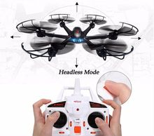 Free Shipping! Black MJX X600 2.4G 6 Axis 3D Roll RC quadcopter drone helicopter without camera