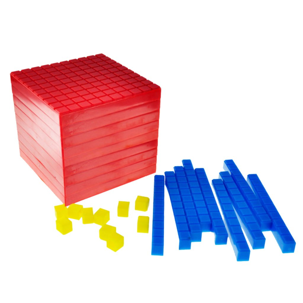 1000 Pcs 1cm Mini Counting Cubes School Teaching Aid Math Early Learning Educational Toys Gift for Children Toddler Kids