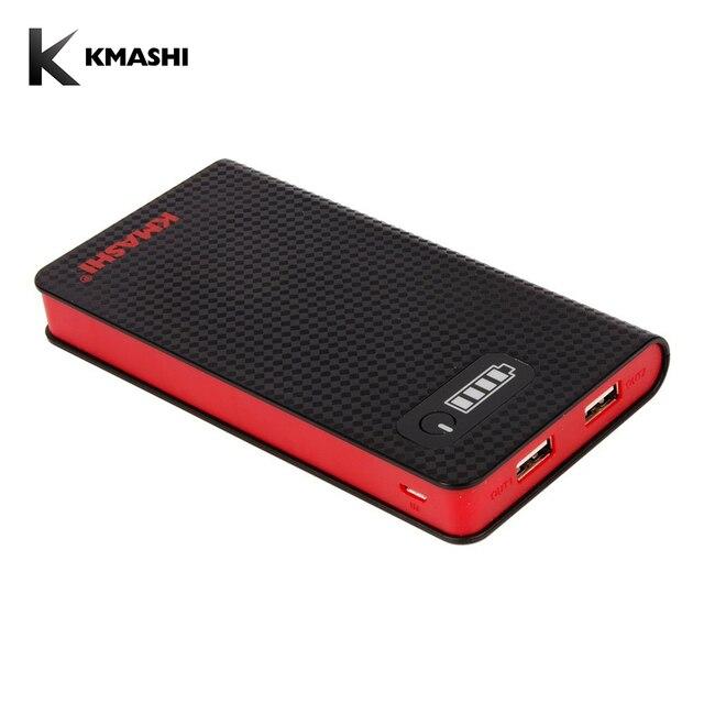Kmashi Запасные Аккумуляторы для телефонов 10000 мАч ультра-тонкий Портативный Зарядное устройство мини внешний Батарея для iPhone 6 6 S плюс Samsung Galaxy s6