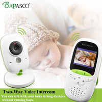 Wireless Video Baby Monitor 2.0 Inch Nanny Camera 2 Way Talk Night Vision IR LED Temperature Monitor Infant Baby Sleep Cam VB602
