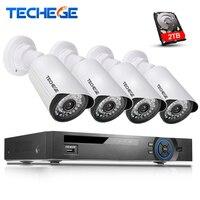 4CH PoE NVR CCTV System 4pcs 720p Ip Camera Video Security Surveillance System PoE NVR Recorder