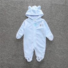 2017 fleece baby animal overalls bear style children's overalls newborns Funny Clothes cute Clothes for baby footies