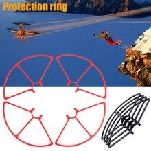 4 pcs Hélices Guarda Proteção Protetor Durável Para YUNEEC S7JN Q500 RC Drone Quadcopter