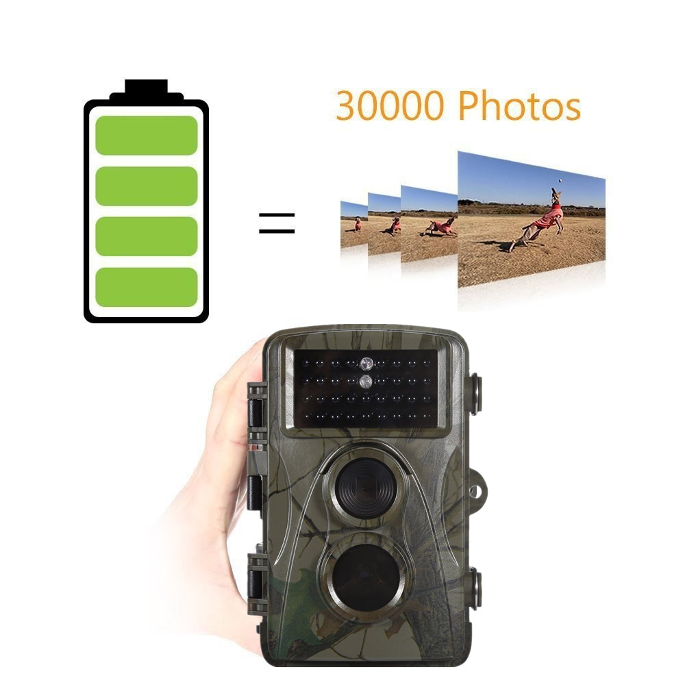 12MP 720P Hunting Camera H3 IP54 Waterproof Wild Trail Camera Infrared Night Vision Animal Observation Recorder 11