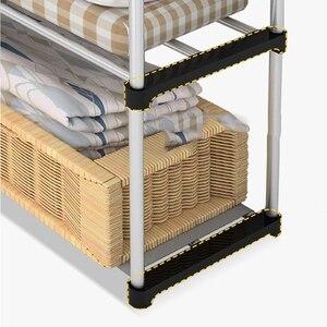 Image 4 - DIY Non   woven พับแบบพกพา Simple ตู้เสื้อผ้าผ้าตู้เสื้อผ้าประกอบกรอบโมเดิร์นตู้เฟอร์นิเจอร์