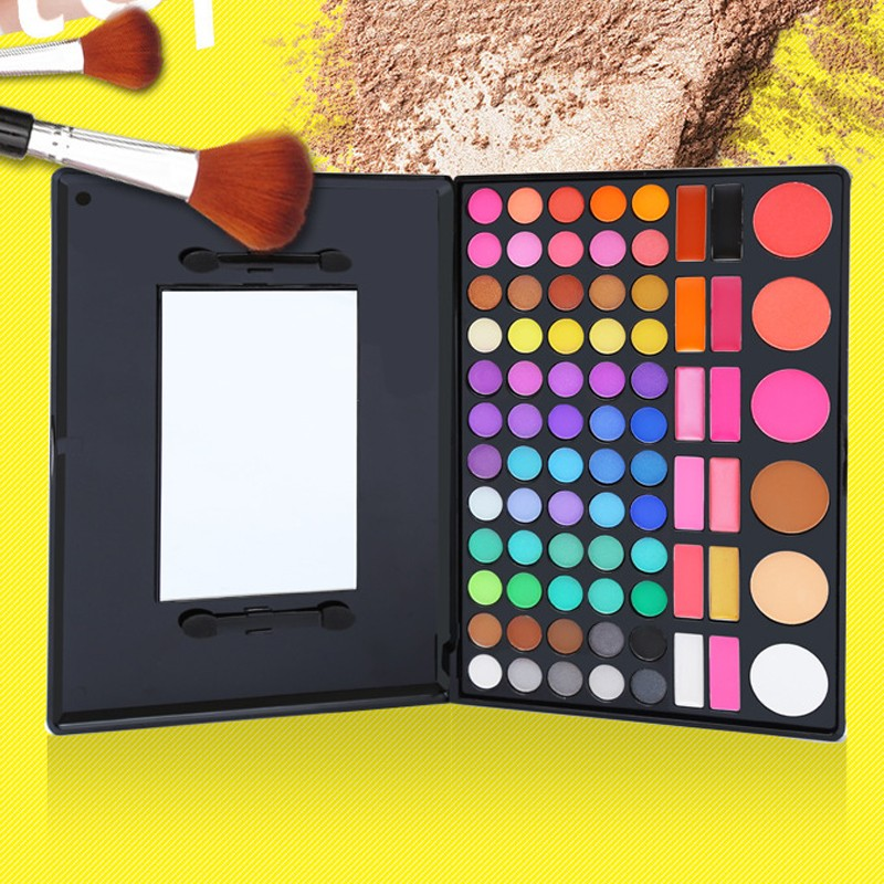 Fashion 78 Color Eye Shadow Palette Cosmetics Colorful ShimmerMatte Make Up Colored Professional Makeup Eyeshadow Palette (2)