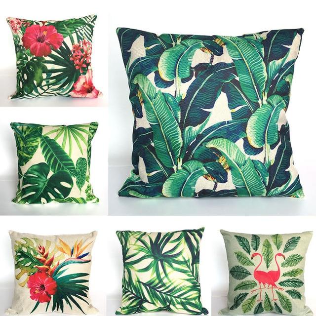 Animal Geometric Nordic Cushion Pillow Case Cover Decorative Pillows Decorative Covers Linen Decor Cotton For Sofa Scandinavian
