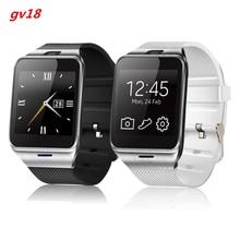Smart Watch GV18 1,5 «1,3 Mt kamera speicherkarte und SIM einbauschlitz Schrittzähler Smartwatch für mann und frau für Android-handy