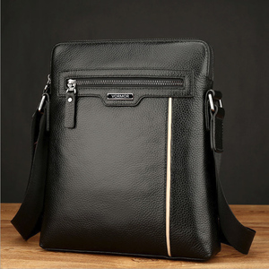 Image 4 - VORMOR Famous Brand Leather Men Bag Casual Business Leather Mens Messenger Bag Fashion Mens Crossbody Bag bolsas male