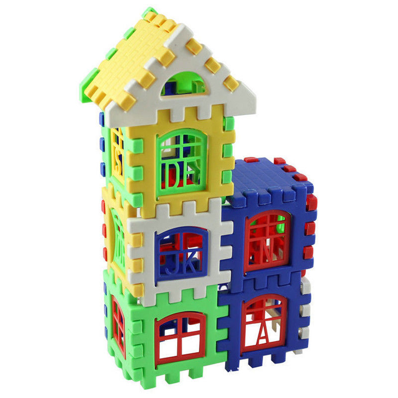 Pudcoco New Preschool Education Toys For Kids Creative Plastic Building Blocks Children Kids Toys Gift  DIY