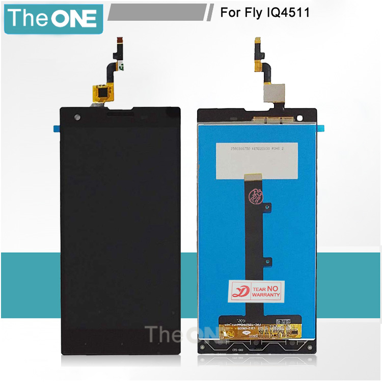 NEW Replacement Glass Monitor Assembly For Fly IQ4511 Tornado One Full LCD Display Screen Digitizer Touch Screen Free Shipping глюкометр one touch verio iq