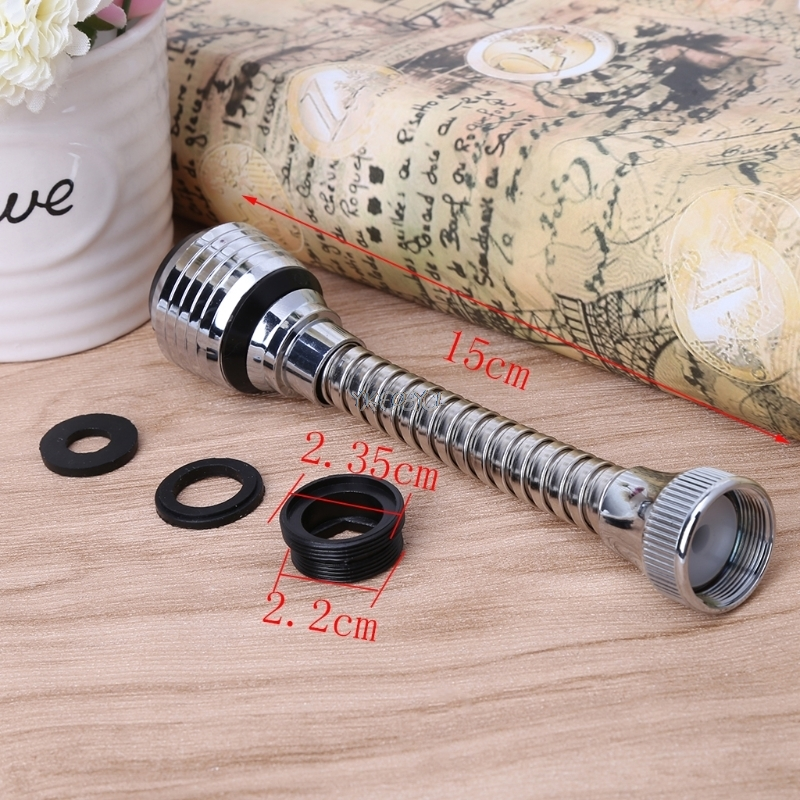 360 Swivel Water Saving Tap Aerator Diffuser Faucet Nozzle Filter Connector   M13 Dropship