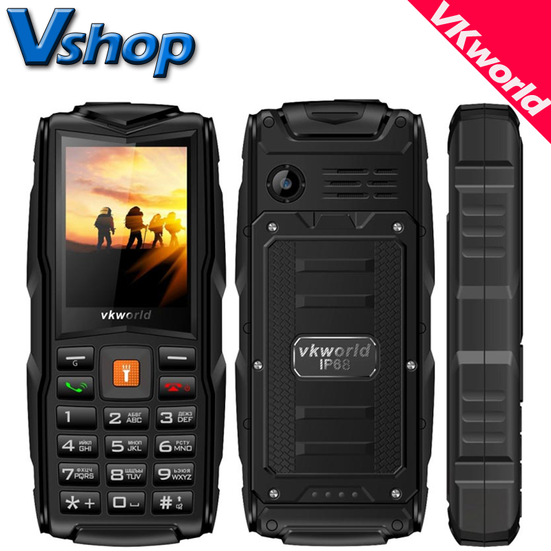 Original VKworld New Stone V3 Plus V3 max V3S IP67 Waterproof Mobile Phones Power Bank Outdoor
