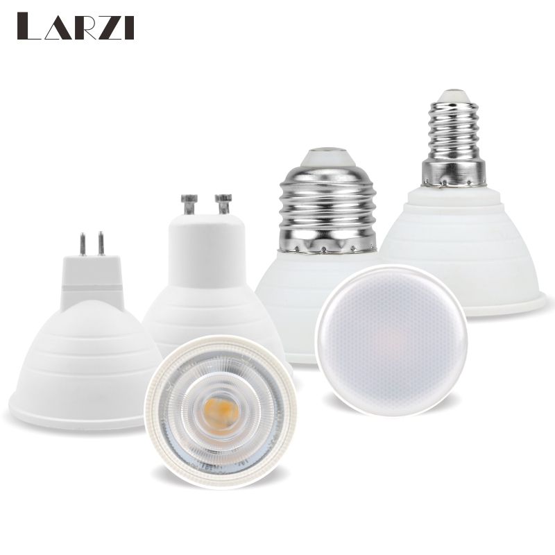 E27 E14 MR16 GU5.3 GU10 Lampada LED Bulb 6W AC 220V Bombillas LED Lamp Spotlight Lampara Condenser Lamp Diffusion Spot Light