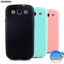 Мягкий силиконовый чехол карамельного цвета из ТПУ для Samsung Galaxy S3 Neo i9301 SIII I9300 GT I9300 Duos i9300i, Ультратонкий матовый чехол