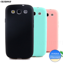 Soft Silicone TPU Candy Color Case for Samsung Galaxy S3 Neo i9301 SIII I9300 GT I9300 Duos i9300i Cover Ultra Thin Matte Coque