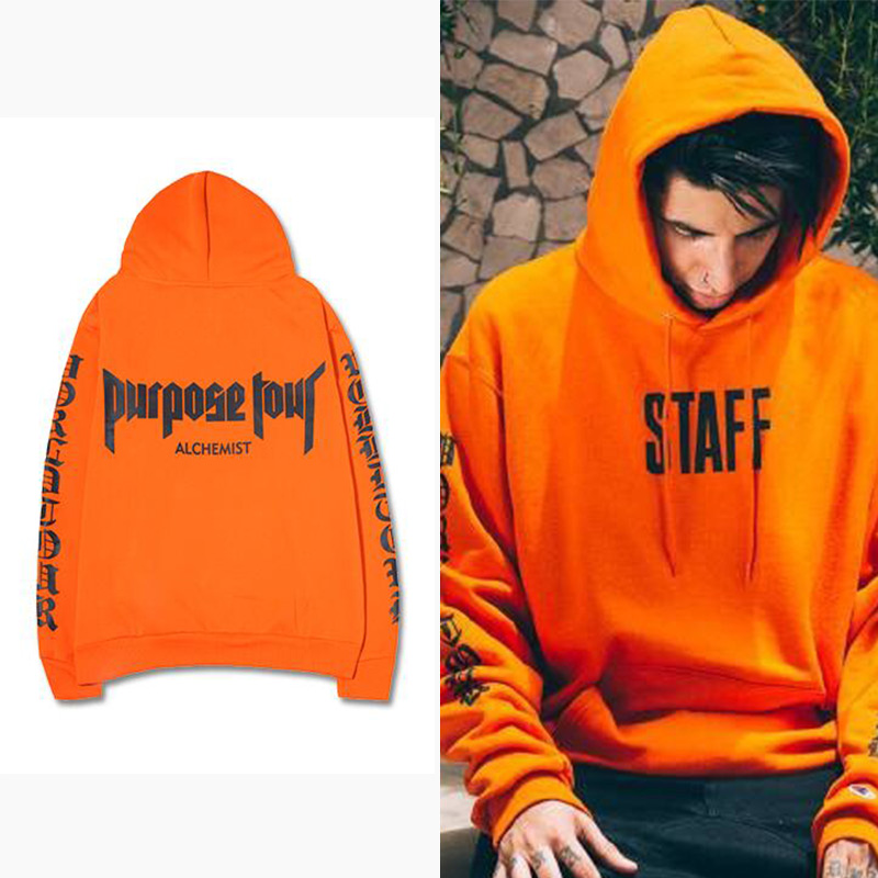 purpose tour hoodie women justin bieber sweatshirt staff. Black Bedroom Furniture Sets. Home Design Ideas