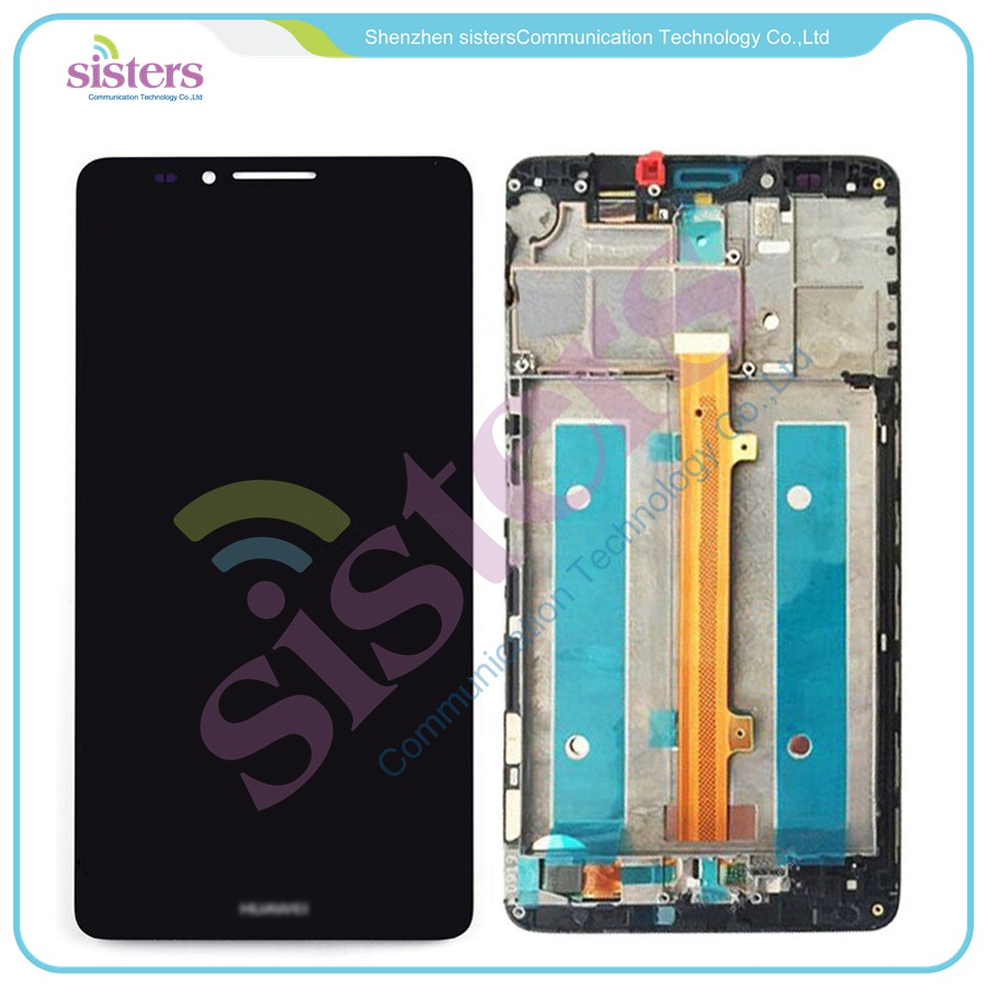 Wholesale High quality LCD Display Touch Screen Digitizer Assembly with frame For Huawei Ascend Mate 7 Mate7 MT7Wholesale High quality LCD Display Touch Screen Digitizer Assembly with frame For Huawei Ascend Mate 7 Mate7 MT7