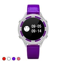Женские часы Smart Браслет монитор сердечного ритма браслет Wechat движение шагомер физиологии менструального монитор группа здоровья