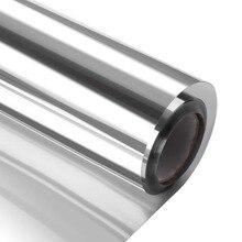 50*400 cm One Way Mirror Film Self Adhesive Heat Control Sun Blocking Glare Reduction Anti UV Window Tint Removable for Home тонер картридж integral tk 1200 tk 1200 для kyocera ecosys p2335d p2335dn p2335dw m2235dn m2735dn m2835dw