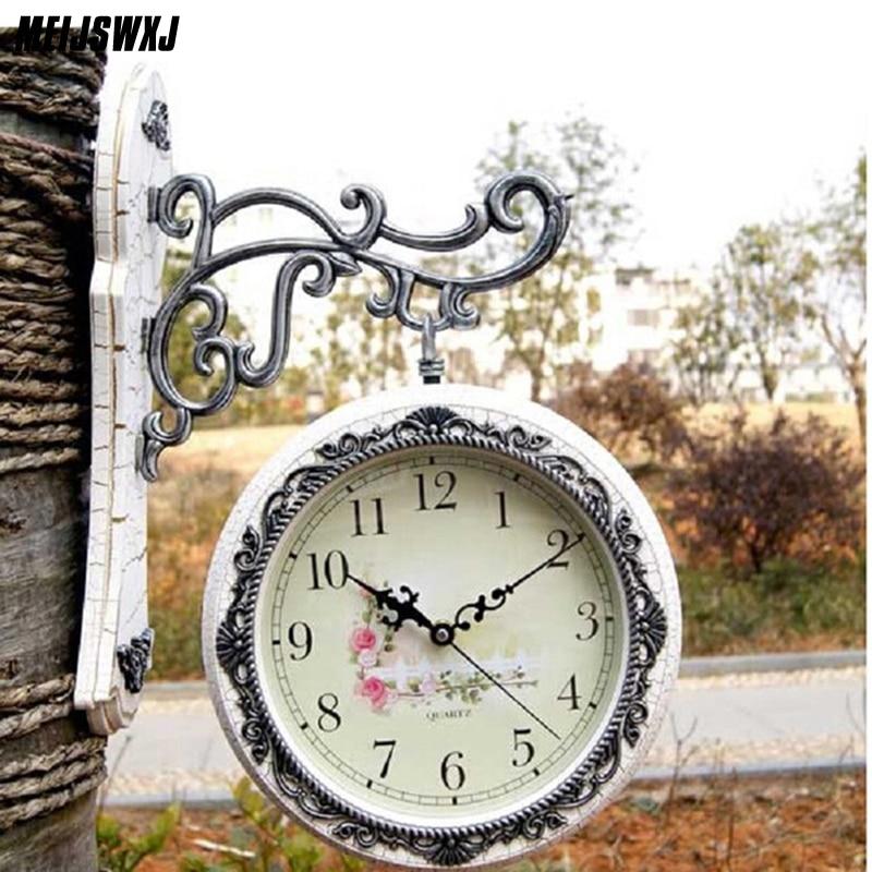 Reloj de Pared Vintage de doble cara Reloj Saat Reloj de Parede grande Digita Relojes de Pared Horloge Murale Duvar Saati Reloj de Pared NAVIFORCE, relojes de cuarzo de lujo para hombres, relojes para mujeres de acero a prueba de agua, reloj informal para parejas, reloj de pulsera Masculino, reloj Masculino