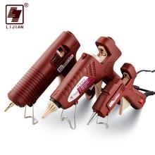 Glue-Gun LIJIAN Hot-Melt Copper-Nozzle-Sticks Temperature Professional 11mm Mini Adjustable