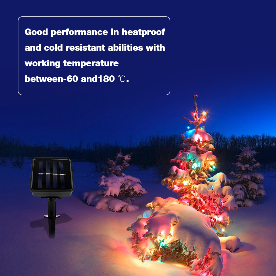 Outdoor Lampen Us 14 78 38 Off Waterproof Led Outdoor Solar Lampen Led String 6 5m Bubble String Lights Auto Turn On Decoration Path Led Solar Garden Lighting In