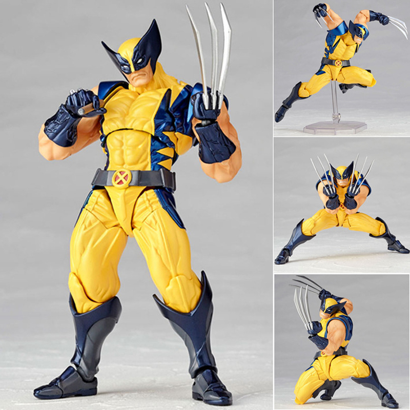Marvel Super Hero X-Men Wolverine Logan Howlett Action Figures BJD Doll Toys 15cm high quality 16cm pvc model x men wolverine james howlett logan howlett action figure doll model toy children gift