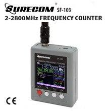 SF-103 Tragbaren Frequenzzähler 2 MHz-2,8 GHz