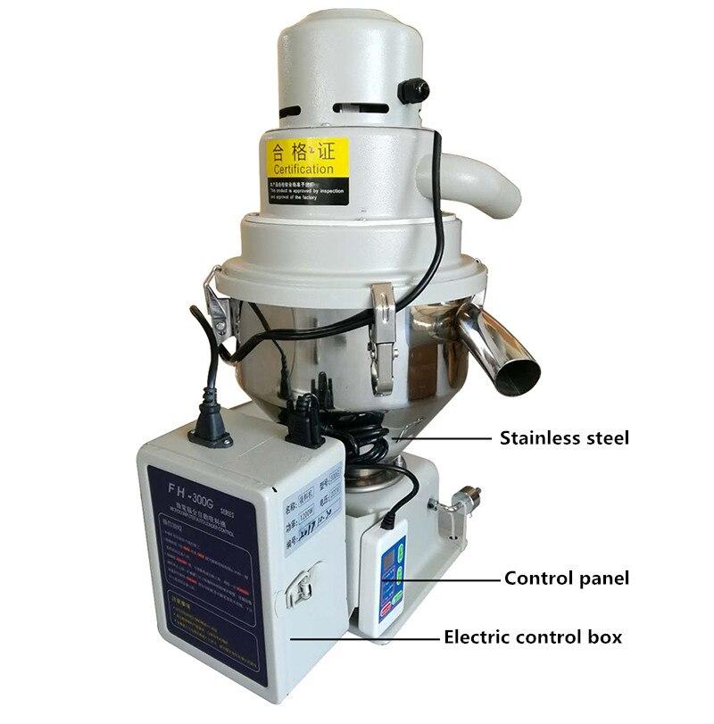 220 V Auto Alimentador Automático de plástico máquina de vácuo de alimentação de partículas 300 KG/T 7.5L para moldagem por injeção máquina Y