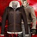 Resident Evil 4 Leon hombres espesar chaqueta Vintage cosplay película producto
