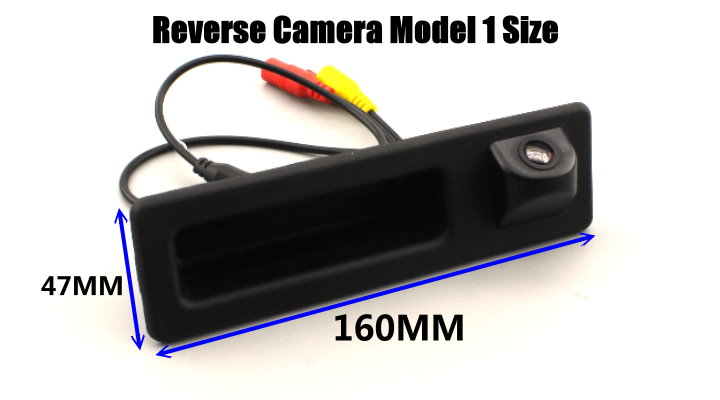 For BMW X4 F26 2010~2012 CIC System Reversing Module + Rear Camera 1009 size