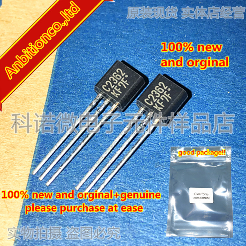 10pcs 100% New And Orginal 2SC2632KF 2SA1016KF C2632 A1016 TO-92in Stock