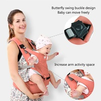 Children Carrier Infant Cotton Comfortable chicco Baby Backpack Sling Hip Seat for newborn with buckle