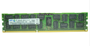 Image 2 - Samsung DDR3 4GB 8GB 16GB server memory 1333 1600 1866 MHz ECC REG DDR3 PC3 10600R 12800R 14900R Register RIMM RAM X58 X79