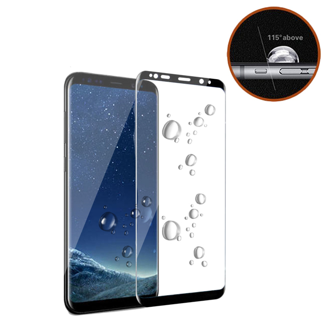 3D Original NFH Sensitive Reaction Tempered Glass For Samsung Galaxy S8 S8 Plus Screen Protective Protection Film Case On S 8 1