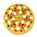 Pizza de corte de Plástico de Juguete Cocina Comida Juego de Imaginación Juguete Temprano Del Desarrollo y la Educación Juguetes para Bebés y Niños Niños