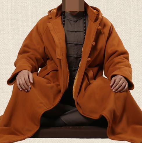 Hooded Winter Tai Ji Coat