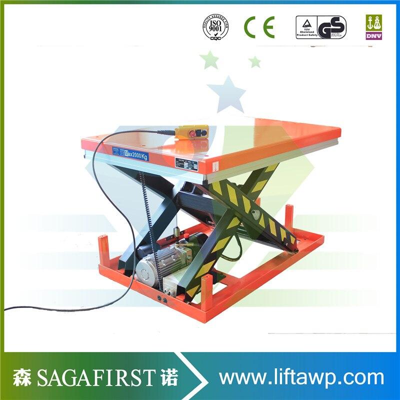 Electric Hydraulic Platform Single Scissor Lift Table