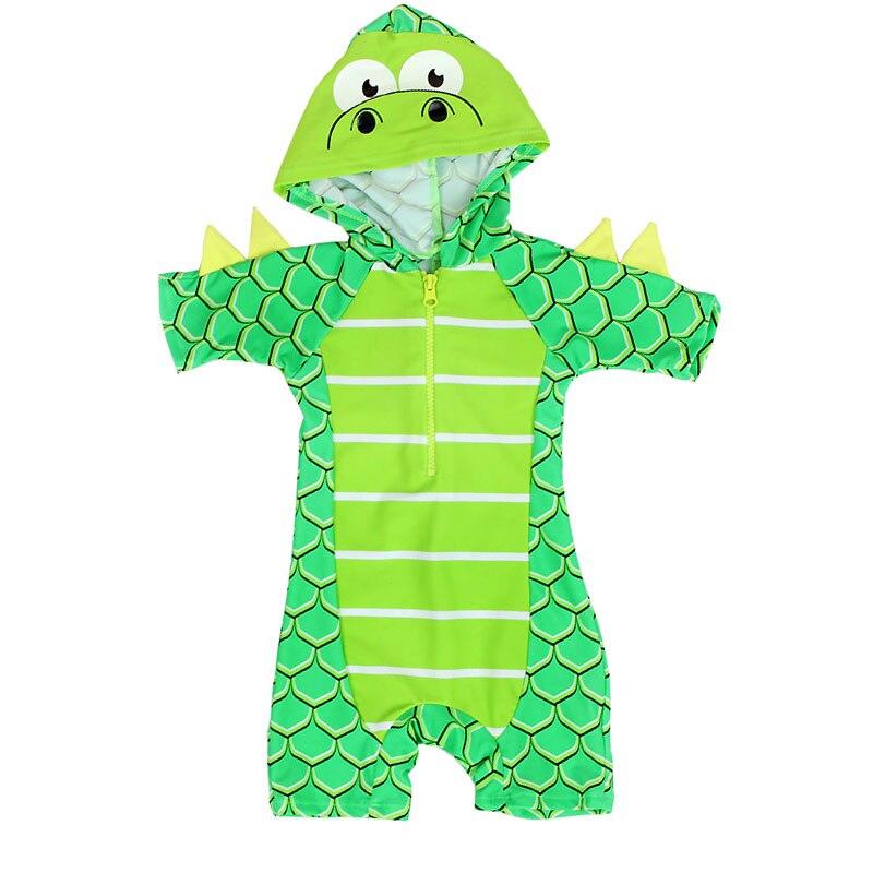 Dollplus Children Swimwear Swimsuit For Boys Dinosaur One Piece Toddler Kids Boy Swimwear For Baby Children's Bathing Suit