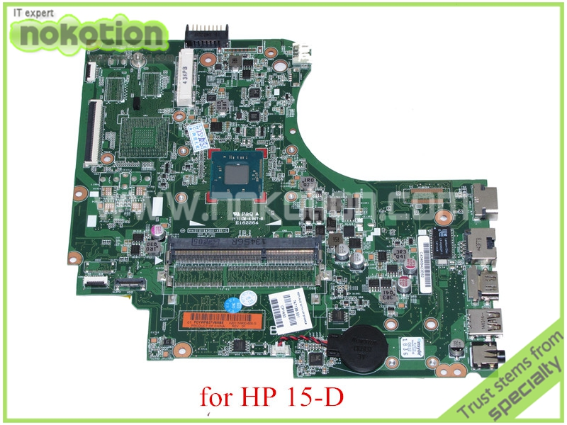 NOKOTION 747138-501 747138-001 PN 010194Q00-491-G For HP untuk 15-D motherboard all in one N3510 cpu DDR3 original for hp touchsmart 23 all in one pc motherboard pn 732130 002 ipshb la 100