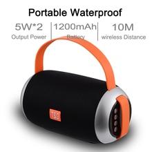 Portable Bluetooth Speaker Wireless Outdoors Mini Loudspeaker Subwoofer System TF FM Radio Music Column Stereo Sound Speakers цена и фото