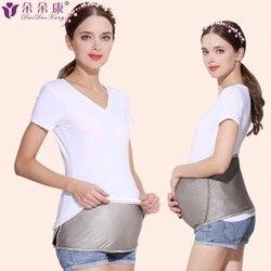 Strahlung schutz anzug mutterschaft kleid in die vier jahreszeiten tragen eine bauch umfang schwangere zeitraum schürze silber faser
