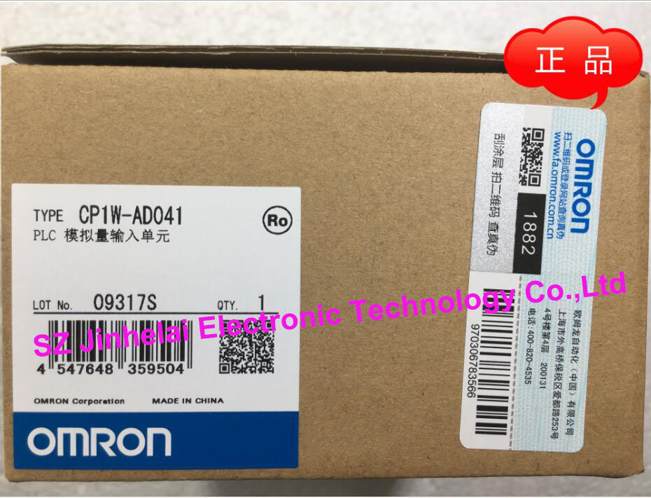 100% New and original  CP1W-AD041  OMRON PLC Analog input unit new and original cp1w mad42 omron plc analog input output unit